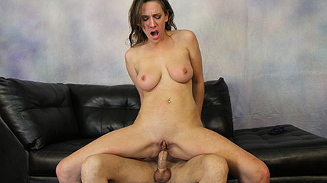Alora Jaymes Sits on a Cock and Rides It Deep
